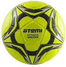 Футбольный <b>мяч Atemi</b> ATTACK <b>WINTER</b>,5 размер,зеленый ...
