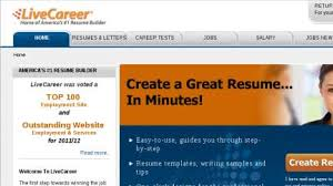 best resume website templates and layouts live career