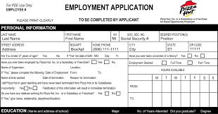 job application for pizza hut sample customer service resume job application for pizza hut pizza hut application apply online for your local area pizza hut