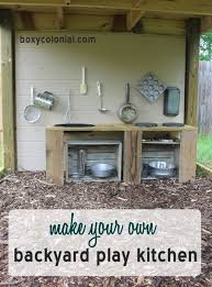guide making kitchen: backyard play or mud pie kitchen step by step guide to making your own out
