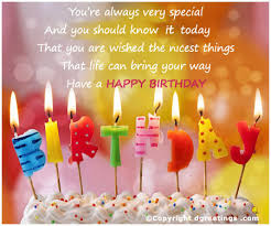 Happy Birthday Greetings | Birthday Greetings Wishes Images for ... via Relatably.com