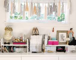 home office tour shabby chic walls pink ideas large size chic vintage home office desk cute