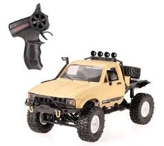 <b>Радиоуправляемый краулер WPL</b> 4WD RTR - WPLC-14-Yellow ...