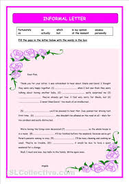 best photos of informal thank you letter sample   english thank  sample informal letter example