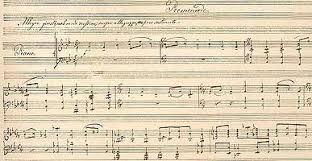 Manuscript and Printed Music in the National Library of Russia