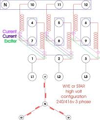 re wiring a three phase generator anoldman com click to enlarge