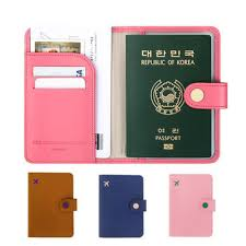 <b>rfid blocking passport</b> holder wallet <b>travel</b> card case organizer cover ...