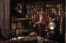 Image result for harry and dumbledore