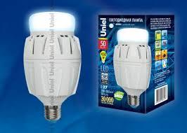 Светодиодная <b>лампа LED</b>-<b>M88</b>-<b>50W</b>/<b>DW</b>/<b>E27</b>/<b>FR</b> ALV01WH с ...