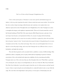 slaughterhouse  essay  www gxart orgimportant quotes from slaughterhouse five quotesgramimportant quotes from slaughterhouse five