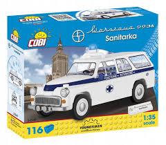 <b>Конструктор COBI</b> *Warszawa 223K Ambulance* 116 элементов ...