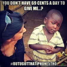 African Kid Meme Tumblr - african kid meme tumblr with skeptical ... via Relatably.com