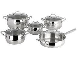 <b>10PCS</b> Cookware Set with Ss Wire Handle and Knob <b>Apple Shape</b> ...