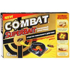 <b>Средство Combat Super</b> Spray от тараканов 500 мл