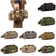 3 In 1 Outdoor <b>Military Tactical MOLLE</b> Shoulder Bag <b>Waist</b> Pouch ...