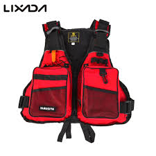 <b>Lixada</b> Fishing Vest Flotation <b>Adult Safety Life</b> Jacket Survival Vest ...