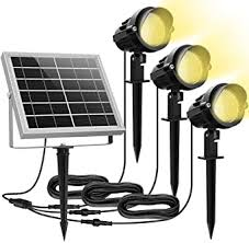 MEIKEE <b>Solar</b> Spotlights, 3 in 1 Landscape Lighting, <b>IP66</b> ...