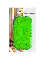 """<b>Форма для выпечки</b> из силикона """"Лимоны"""" 26х15х8см., зеленый ..."""