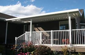 aluminium patio cover surrey: completed do it yourself kit from gl aluminum patio covers inc in kelowna bc