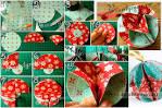 Объемные игрушки своим руками на новогоднюю елку