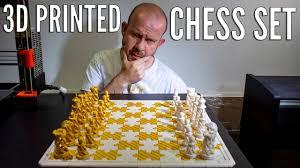 3D <b>Printing</b> a Complete <b>Chess Set</b> - YouTube