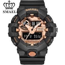 <b>Top Luxury Brand SMAEL</b> Men Sport Watches Men's Quartz LED ...