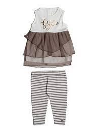 Sleeveless <b>Dress</b> and Leggings <b>Set</b> (<b>0</b>-<b>24M</b>)   GUESS.com