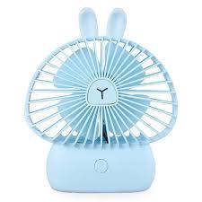 <b>BRELONG LJQ</b> - <b>075</b> Portable USB Rechargeable Mini Fan Sale ...
