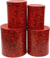 """<b>Набор подарочных коробок</b> Miland """"Алые <b>розы</b>"""", 4 шт — купить в ..."""
