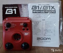 Басовый <b>Процессор Эффектов Zoom B1</b> купить в Самаре ...