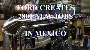 wake up america we re losing jobs to as ford heads wake up america we re losing 2800 jobs to as ford heads south