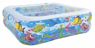 Детский <b>бассейн Jilong Sea</b> World Square JL017421NPF — купить ...
