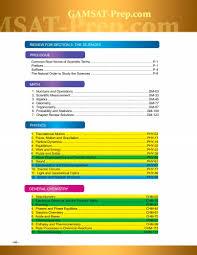 gamsat courses and gamsat preparation gold standard gamsat viii