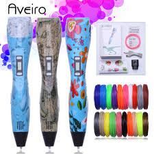 <b>Aveiro 3D Pen</b> 10/20 colors 3D Printing Material Filament PLA 1.75 ...