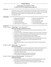 displaying > images for fast food restaurant manager resume displaying 18> images for fast food restaurant manager resume