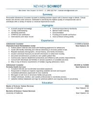 best admissions counselor resume example livecareer choose