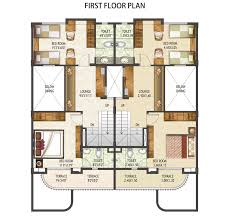 Row House Plans Site   Free Online Image House Plans    Row House Floor Plans on row house plans site