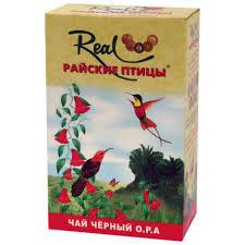 "<b>Чай Real</b> ""Райские птицы"" 250 гр. OPA"