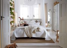 stunning ikea inspiration bedrooms design ideas with white laminated bed frame headboard and bedside table also bedroomappealing ikea chair office furniture
