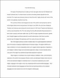 geo final essay and terms final geo essay the region of this preview has intentionally blurred sections sign up to view the full version