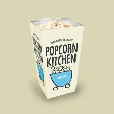 <b>Cinema</b> Style <b>Carton</b> - Popcorn Kitchen