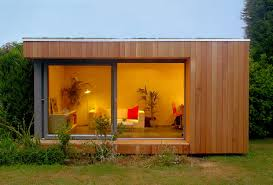 home office vs out of home office modern shed barn house addition backyard home office build