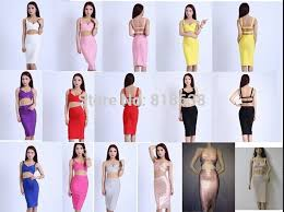 <b>best</b> quality red two piece bandage dresses <b>2015 new arrival</b> party ...