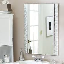 wall mounted bathroom wall mirror brilliant bathroom vanity mirrors decoration black wall