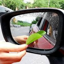 <b>2PCS</b>/Set Anti Fog <b>Car Mirror</b> Window Clear Film Anti Light <b>Car</b> ...