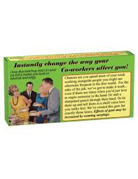 get along your co workers gum a unique gifts website