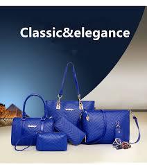 NEW <b>Brand</b> Luxury Lady <b>Handbag 6 Pcs</b>/set Composite <b>Bags</b> Set ...