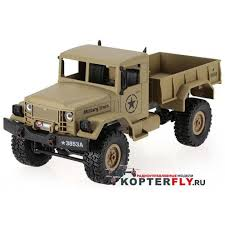 <b>Радиоуправляемый военный</b> грузовик <b>HENG LONG</b> Rock Crawler ...