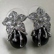 1 pair <b>NEW 925 Sterling Silver</b> Cherry Allergy Free Earrings Dangle ...
