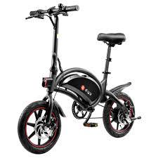 [EU Direct] <b>DYU D3F</b> 10Ah 36V 250W 14in Folding Moped <b>Electric</b> ...